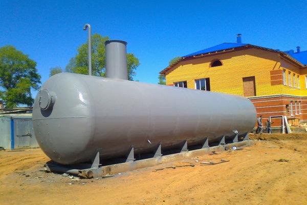 Антикоррозийная обработка пожарных резервуаров